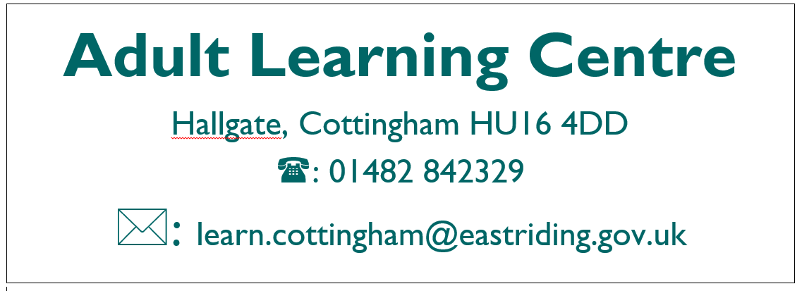Cottingham Adult Learning