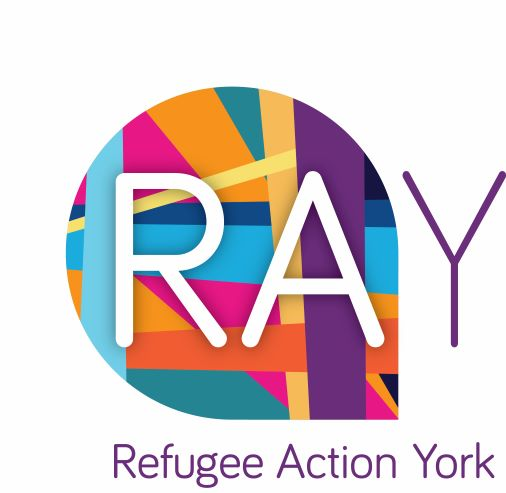 Logo for Refugee Action York, English Language course provider