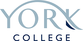 Logo for York College, English Language course provider
