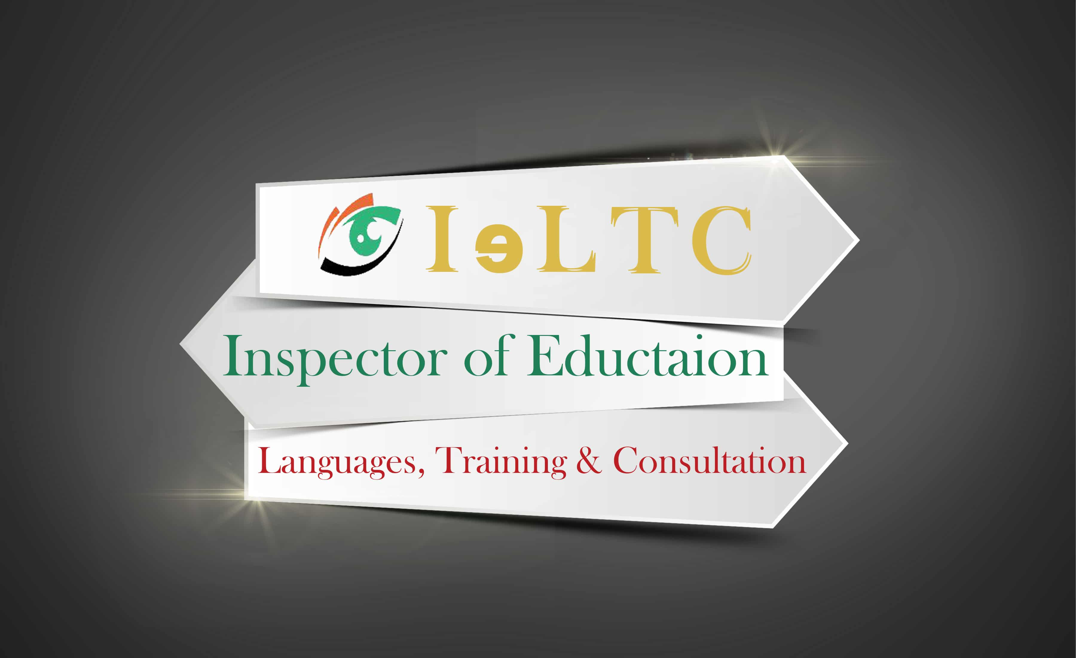Logo for IELTC, English Language course provider