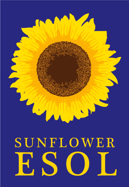 Logo for Sunflower ESOL, English Language course provider