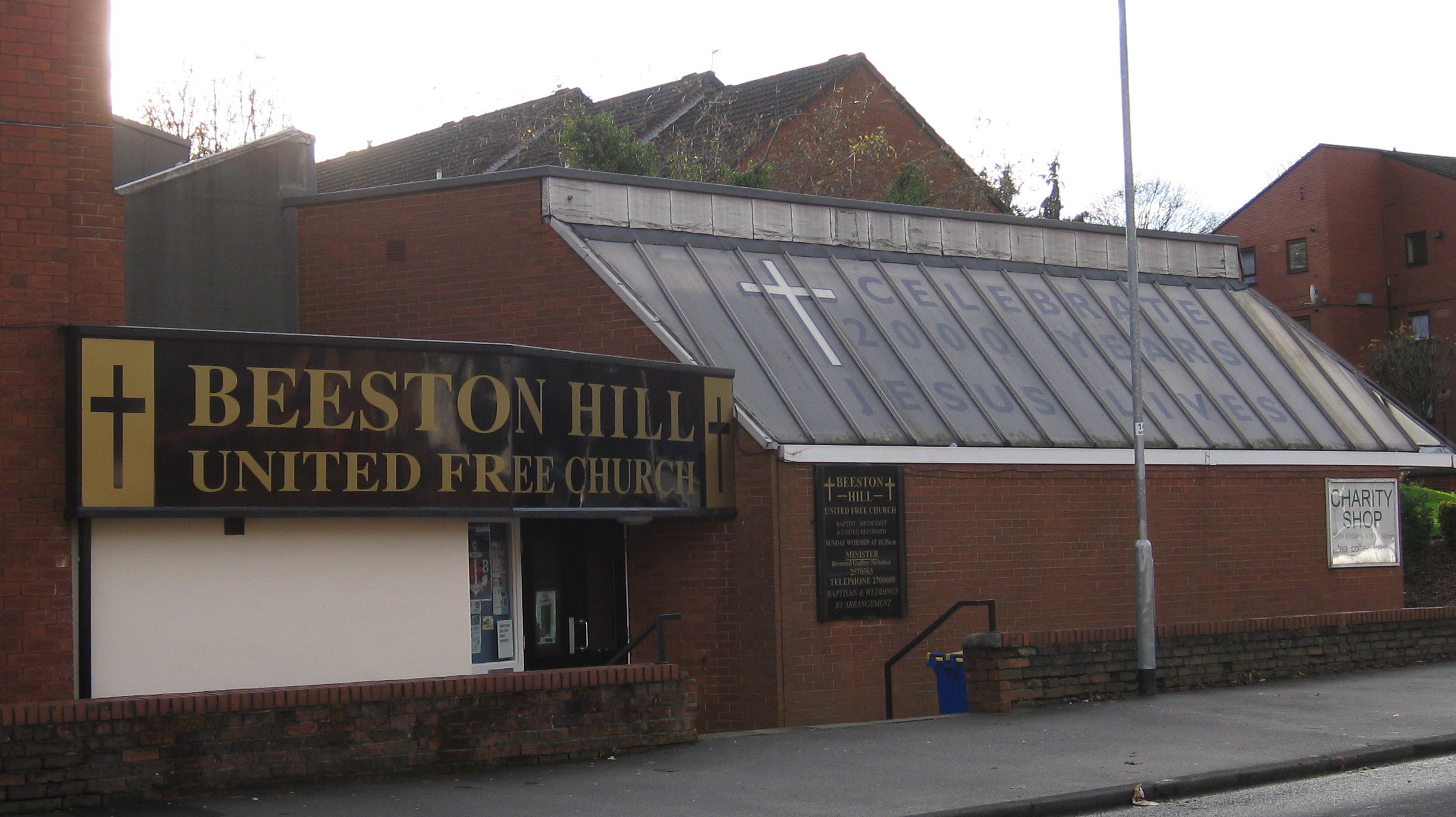 Currently: Beeston Hill United Free Church,